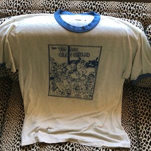 Thrashed vintage punk tee (XL)